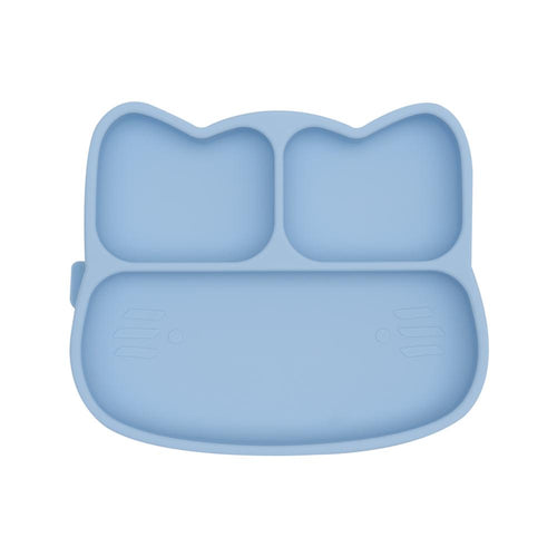 CAT STICKIE™ PLATE - POWDER BLUE Suction Plate, Meal time, new, silicone plate cat-stickie™-plate-powder-blueTwo Little Seedlings