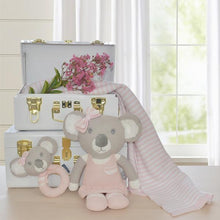 Load image into Gallery viewer, CHLOE THE KOALA KNITTED TOY Soft Toy, comforter, featured, soft toy chloe-the-koala-knitted-toyTwo Little Seedlings