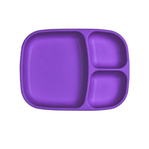 Re-Play Divided Tray - Amethyst Plates, divider plate, plates, replay, tray re-play-divided-tray-amethystTwo Little Seedlings