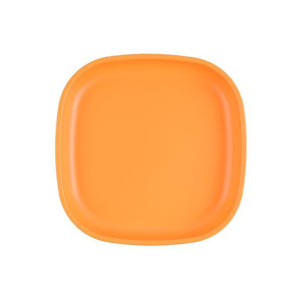Re-Play Large Flat Plate - Orange Plates, bowls, Meal time, new, plates, replay, silicone bowls re-play-large-flat-plate-orangeTwo Little Seedlings
