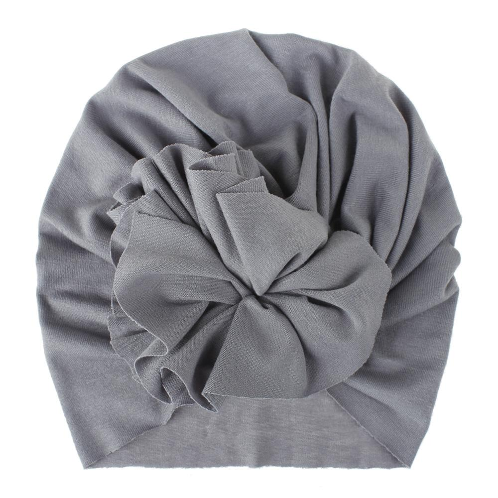 Soft Cotton Baby/Toddler Hair Turban with Ruffle- Sofy Grey Turban, headband, new, TopKnot, Turban soft-cotton-baby-toddler-hair-turban-with-ruffle-sofy-greyTwo Little Seedlings
