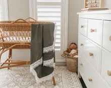 Load image into Gallery viewer, Heritage Blankets- Olive Heritage Blanket, Swaddle heritage-blankets-oliveTwo Little Seedlings
