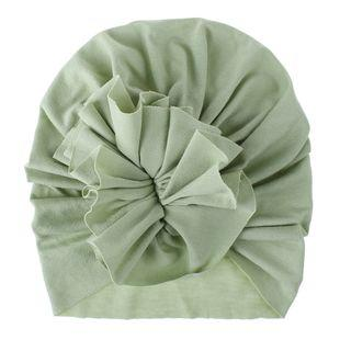 Soft Cotton Baby/Toddler Hair Turban with Ruffle- Light Olive Turban, headband, new, TopKnot, Turban soft-cotton-baby-toddler-hair-turban-with-ruffle-light-oliveTwo Little Seedlings