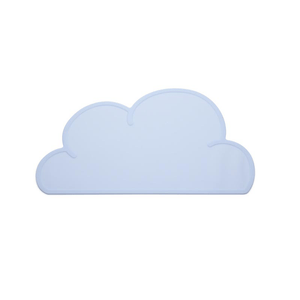 Non Slip Silicone Clouds Placemat - Blue Silicone Place Mat, Meal time, Silicone place mat non-slip-silicone-clouds-placemat-blueTwo Little Seedlings