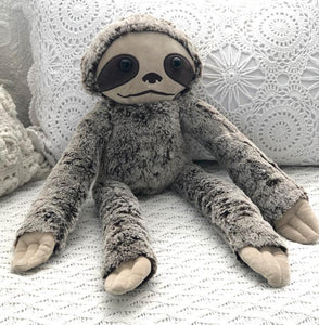 Soft Plush Toys Australia | Sammy Sloth Best Mate | Stuffed Animals O.B Teddy's and Comforters, bunny, new, sloth, soft toy soft-plush-toys-australia-sammy-sloth-best-mate-stuffed-animalsTwo