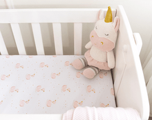 Load image into Gallery viewer, KENZIE THE UNICORN KNITTED TOY Soft Toy, comforter, featured, soft toy kenzie-the-unicorn-knitted-toyTwo Little Seedlings