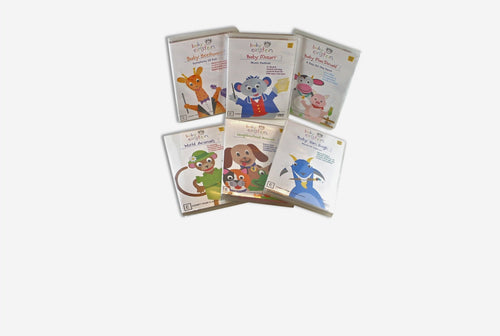 BABY EINSTEIN - 6 DVD BUNDLE SET DVD, Books, toys, wooden baby-einstein-6-dvd-bundle-setTwo Little Seedlings