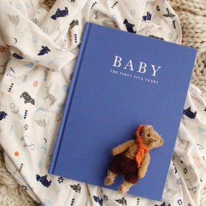 Baby Journal- Birth to 5 Years- Blue Baby Journal, Baby Journal, featured copy-of-baby-journal-birth-to-5-years-blueTwo Little Seedlings