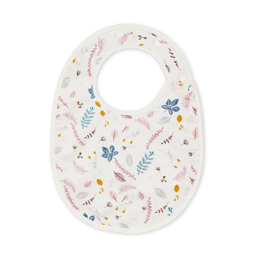 CAM CAM Classic Bib Pressed Leaves Rose Bibs, bib, Bibs cam-cam-classic-bib-pressed-leaves-roseTwo Little Seedlings
