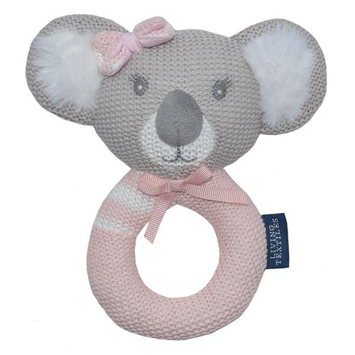 CHLOE THE KOALA KNITTED RATTLE Knitted Rattle, rattle, teether chloe-the-koala-knitted-rattleTwo Little Seedlings