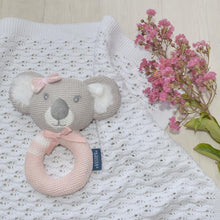 Load image into Gallery viewer, CHLOE THE KOALA KNITTED RATTLE Knitted Rattle, rattle, teether chloe-the-koala-knitted-rattleTwo Little Seedlings