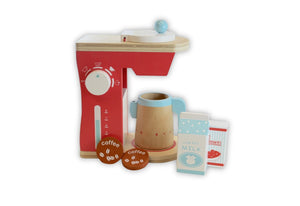 Discoveroo: Coffee Machine Wooden Toys, toys, wooden discoveroo-coffee-machineTwo Little Seedlings