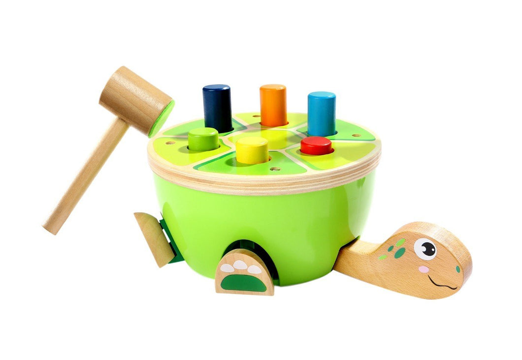Discoveroo Turtle Smackeroo Wooden Toys, toys, wooden discoveroo-turtle-smackerooTwo Little Seedlings