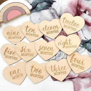 HEART Universal Baby / Pregnancy Milestones Plaques Milestone plaques, featured, Milestone Plaques heart-universal-baby-pregnancy-milestones-plaquesTwo Little Seedlings