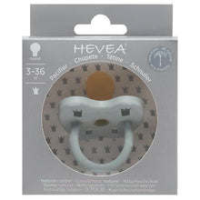 Load image into Gallery viewer, Hevea - Colour Pacifier - Round - Gorgeous Grey - Size 3 to 36 months Hevea Dummy, dummy, new hevea-colour-pacifier-round-gorgeous-grey-size-3-to-36-monthsTwo Little Seedlings