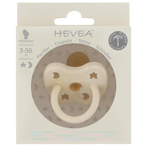 Hevea - Colour Pacifier - Round - Milky White - Size 3 to 36 months Hevea Dummy, dummy, new hevea-colour-pacifier-round-milky-white-size-3-to-36-monthsTwo Little Seedlings