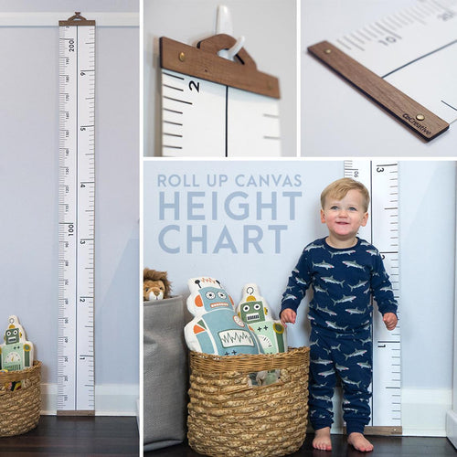 Kids Growth Chart, Canvas Portable removable Height Growth Chart, Imperial & Metric Height Chart, Kids Ruler, Growth Chart, HIGH QUALITY Height Chart, christmas, new, personalised kids-growth