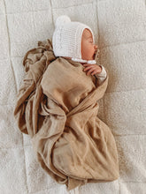 Load image into Gallery viewer, Sand Dune - The Essential Swaddle Range swaddle, Swaddle sand-dune-the-essential-swaddle-rangeTwo Little Seedlings