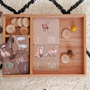 Woodland Counting Puzzle Puzzle, counting, new, puzzle woodland-counting-puzzleTwo Little Seedlings