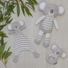 Load image into Gallery viewer, KEVIN THE KOALA KNITTED RATTLE Knitted Rattle, rattle, teether kevin-the-koala-knitted-rattle-1Two Little Seedlings