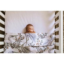 Load image into Gallery viewer, Kushiro Crane Swaddle Swaddles, Swaddle kushiro-crane-swaddleTwo Little Seedlings