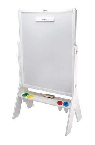 Little Partners: Contempo 2-Sided Easel (Soft White) Easel, easel, learning tower, new little-partners-contempo-2-sided-easel-soft-whiteTwo Little Seedlings