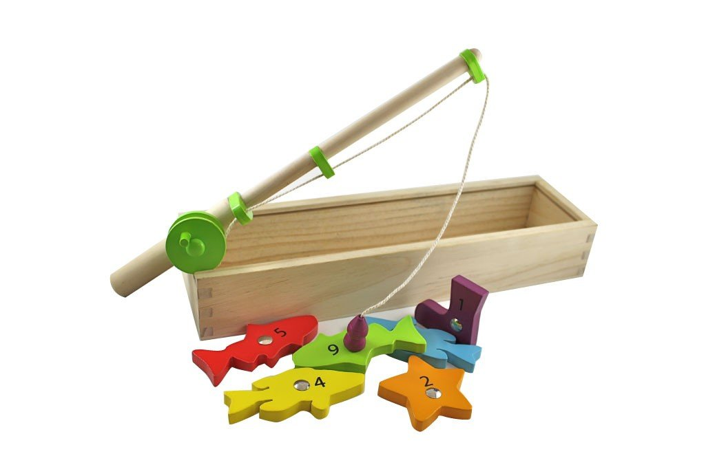Magnetic Fishing Game Wooden Toys, discoveroo, fishing, toys, wooden magnetic-fishing-gameTwo Little Seedlings