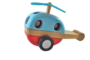 Magnetic Stacking Helicopter Wooden Toys, toys, wooden magnetic-stacking-helicopterTwo Little Seedlings