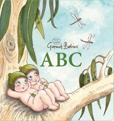 MAY GIBBS - Gumnut Babies Board Book: ABC Kids Books, board book, Books may-gibbs-gumnut-babies-board-book-abcTwo Little Seedlings