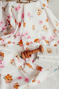 Poppy I Organic Muslin Wrap Swaddle, new, Swaddle poppy-i-organic-muslin-wrapTwo Little Seedlings