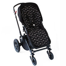 Load image into Gallery viewer, Pram Liner - XO Black Pram Liner, harness cover, Pram Liner pram-liner-xo-blackTwo Little Seedlings