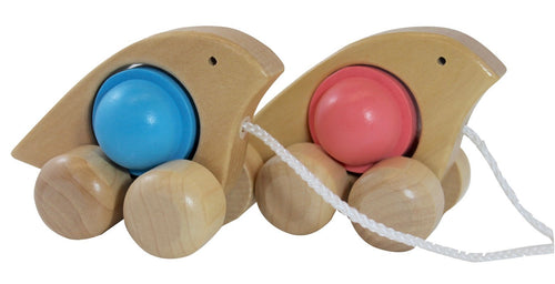 Rattle n Roll Dove Wooden Toys, toys, wooden rattle-n-roll-dove-pinkTwo Little Seedlings