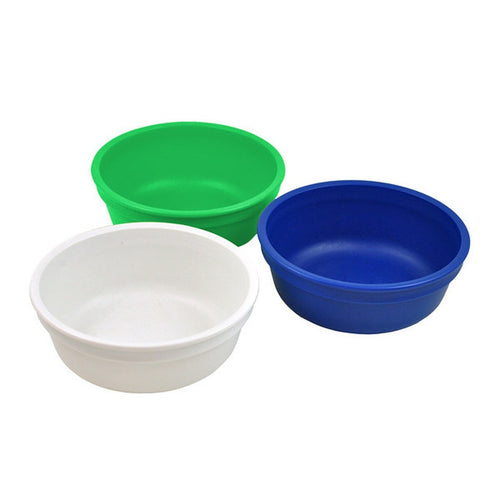 Re-Play Bowls 3 Pack - Navy Blue/ Kelly Green / White Bowls, bowls, Meal time, new, replay, silicone bowls re-play-bowls-3-pack-navy-blue-kelly-green-whiteTwo Little Seedlings