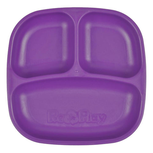 Re-Play Divided Plate - Amethyst Plates, bowls, Meal time, new, plates, replay, silicone bowls re-play-divided-plate-amethystTwo Little Seedlings