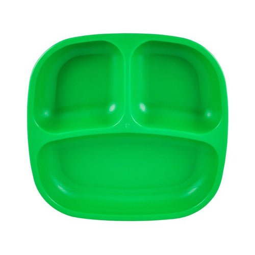 Re-Play Divided Plate - Kelly Green Plates, bowls, Meal time, new, plates, replay, silicone bowls re-play-divided-plate-kelly-greenTwo Little Seedlings