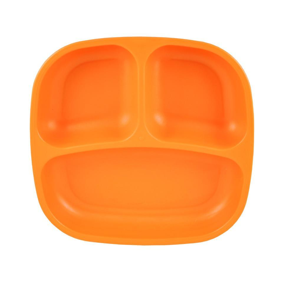 Re-Play Divided Plate - Orange Plates, bowls, Meal time, new, plates, replay, silicone bowls re-play-divided-plate-orangeTwo Little Seedlings