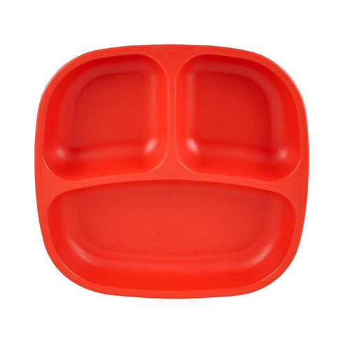 Re-Play Divided Plate - Red Plates, bowls, Meal time, new, plates, replay, silicone bowls re-play-divided-plate-redTwo Little Seedlings