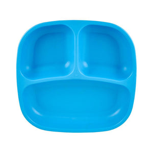 Re-Play Divided Plate - Sky Blue Plates, bowls, Meal time, new, plates, replay, silicone bowls re-play-divided-plate-sky-blueTwo Little Seedlings