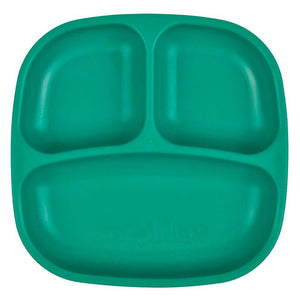 Re-Play Divided Plate - Teal Plates, bowls, Meal time, new, plates, replay, silicone bowls re-play-divided-plate-tealTwo Little Seedlings