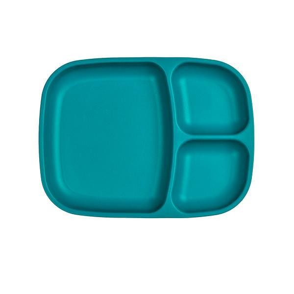 Re-Play Divided Tray- Teal Plates, plates, replay re-play-divided-tray-tealTwo Little Seedlings