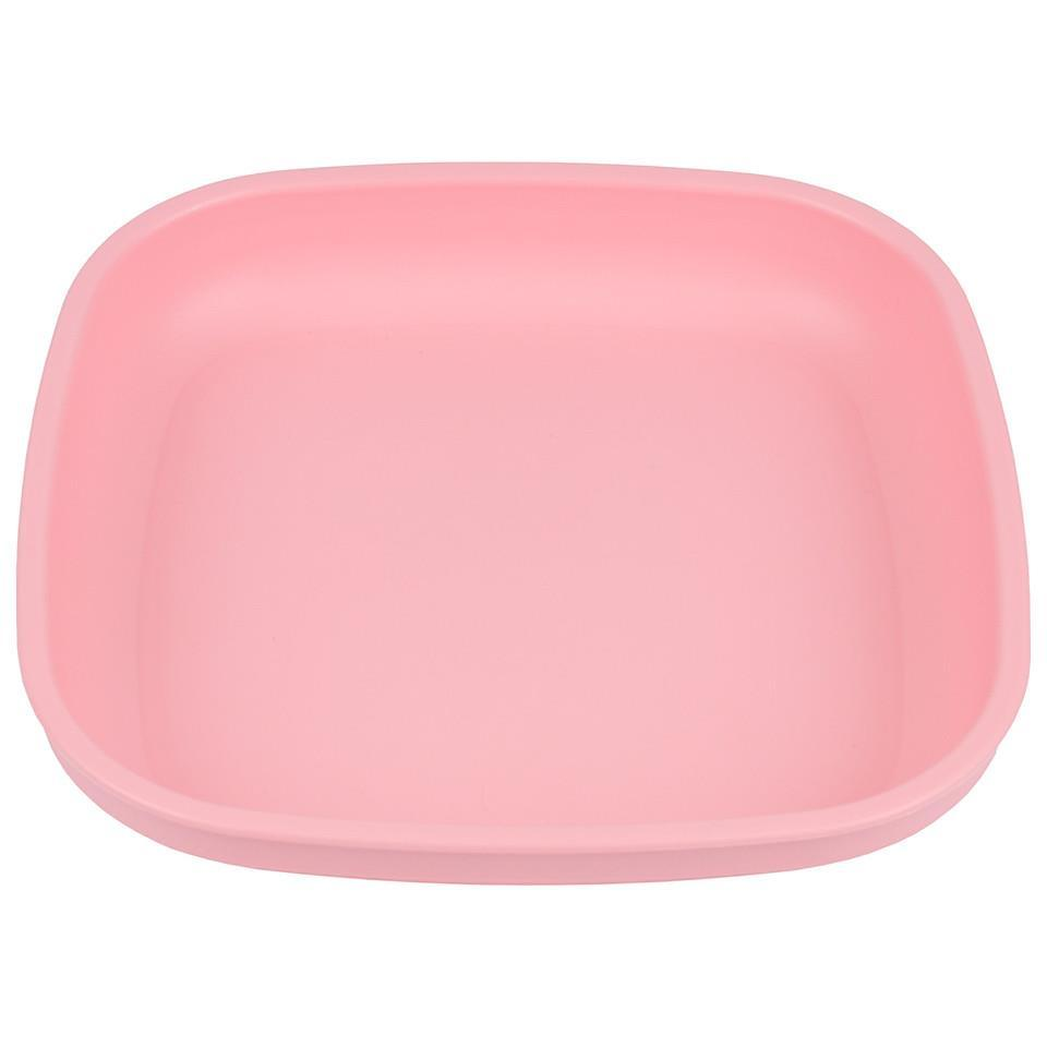 Re-Play Flat Plate - Baby Pink Plates, bowls, Meal time, new, plates, replay, silicone bowls re-play-flat-plate-baby-pinkTwo Little Seedlings