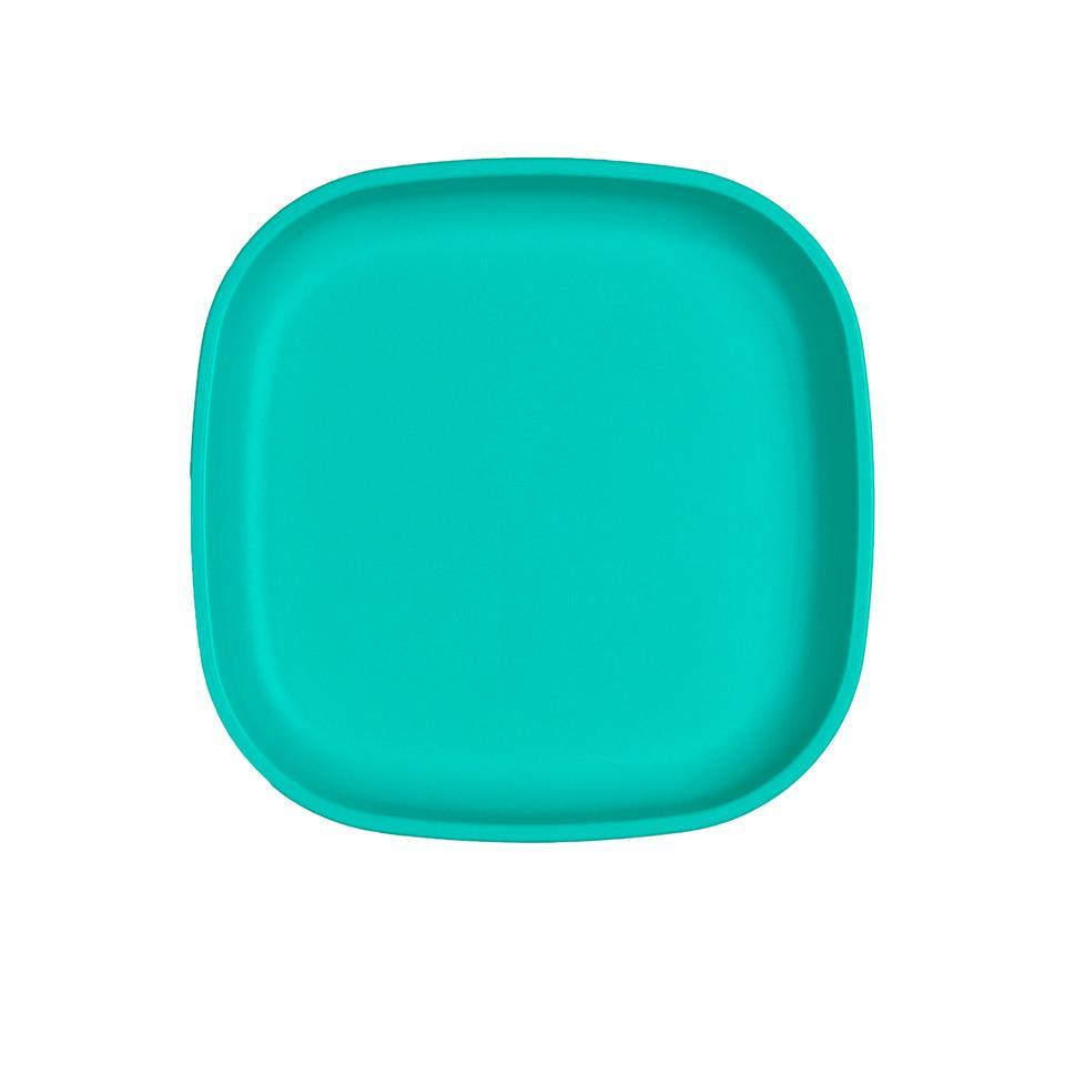 Re-Play Large Flat Plate - Aqua Plates, bowls, Meal time, new, plates, replay, silicone bowls re-play-large-flat-plate-aquaTwo Little Seedlings