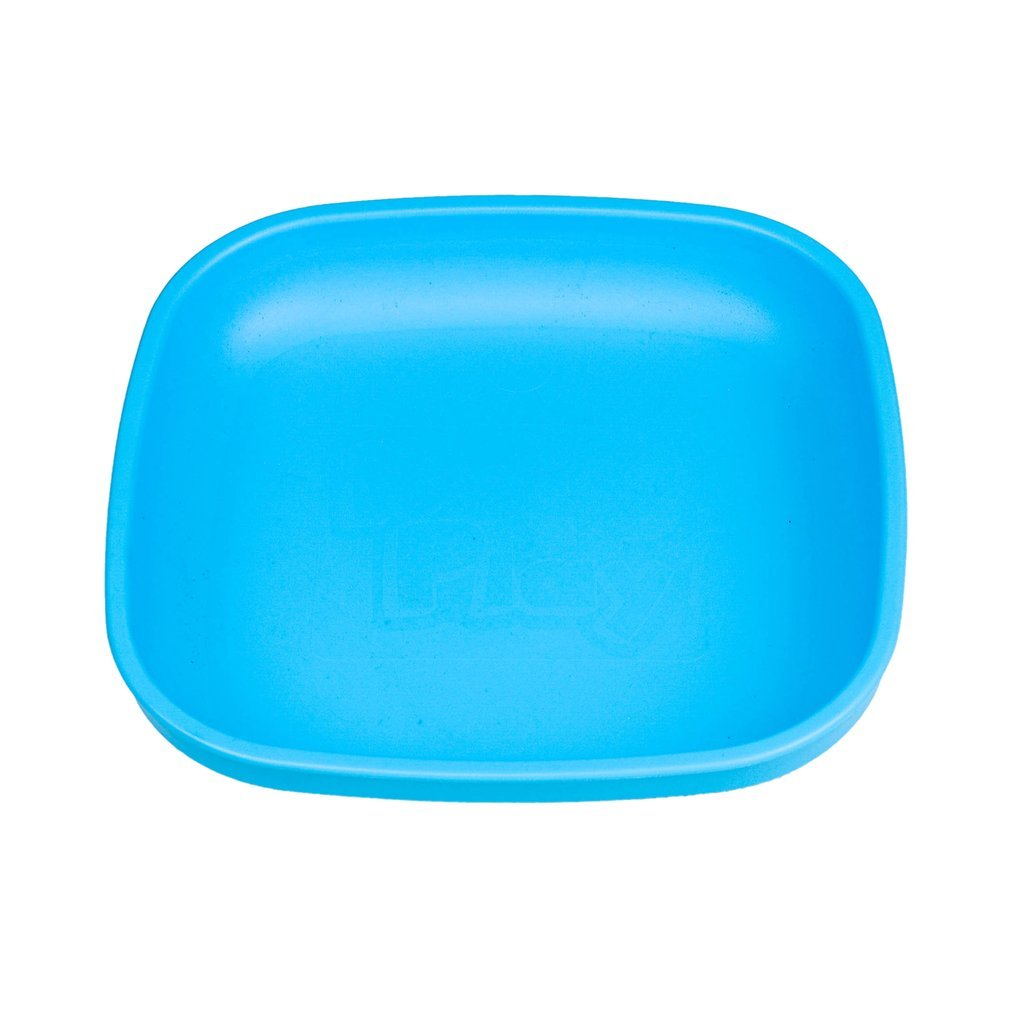 Re-Play Large Flat Plate - Sky Blue Plates, bowls, Meal time, new, plates, replay, silicone bowls re-play-large-flat-plate-sky-blueTwo Little Seedlings