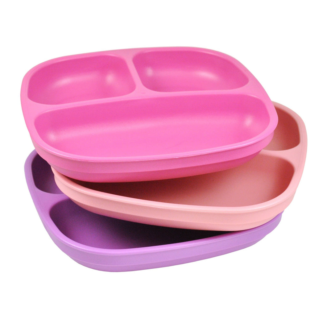 Re-Play Plates 3 Pack - Purple / Bright Pink / Baby Pink Plates, bowls, Meal time, new, plates, replay, silicone bowls re-play-plates-3-pack-purple-bright-pink-baby-pinkTwo Little Seedlings