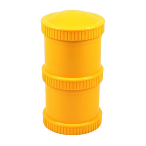Re-Play Snack Stack (2 Pods and 1 Lid ) - Sunny Yellow Snack Stack, bowls, Meal time, new, plates, replay, silicone bowls re-play-snack-stack-2-pods-and-1-lid-sunny-yellowTwo Little Seedlings