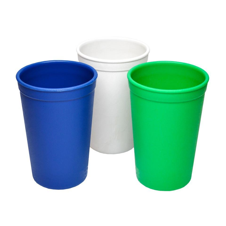 Re-Play Tumblers 3 Pack- Navy Blue / Kelly Green / White Tumblers, Tumblers re-play-tumblers-3-pack-with-retail-packaging-navy-blue-kelly-green-whiteTwo Little Seedlings