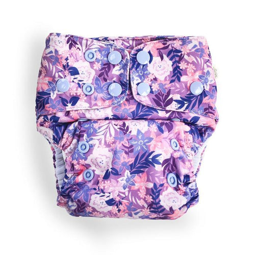 Summer Blooms Modern Cloth Nappy - EcoNaps Convertable Cloth Nappies, Modern Cloth Nappies convertible-cloth-nappy-econaps-summer-blooms-sold-outTwo Little Seedlings