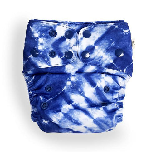 Tie Dye Modern Cloth Nappy - EcoNaps (Pre Order) Convertable Cloth Nappies, Modern Cloth Nappies convertible-cloth-nappy-econaps-tie-dyeTwo Little Seedlings