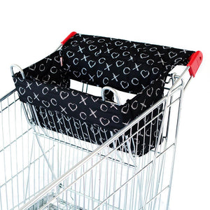 Trolley Liner - XO Black Fits single + double sized trolleys Trolley Liner, featured, new, trolley liner trolley-liner-xo-black-fits-single-double-sized-trolleysTwo Little Seedlings