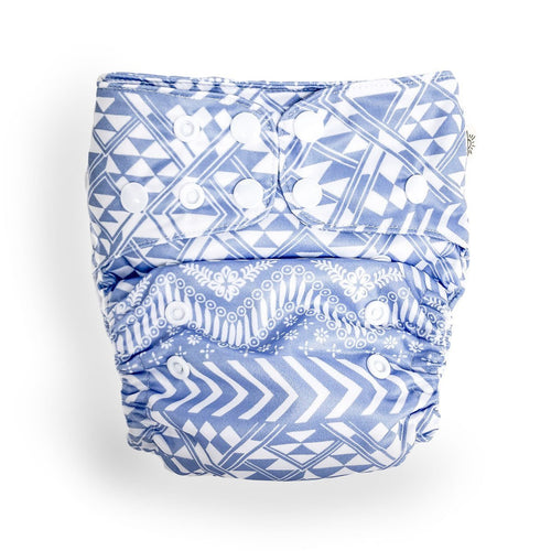 Wanderlust Modern Cloth Nappy - EcoNaps Convertable Cloth Nappies, Modern Cloth Nappies convertible-cloth-nappy-econaps-wanderlustTwo Little Seedlings